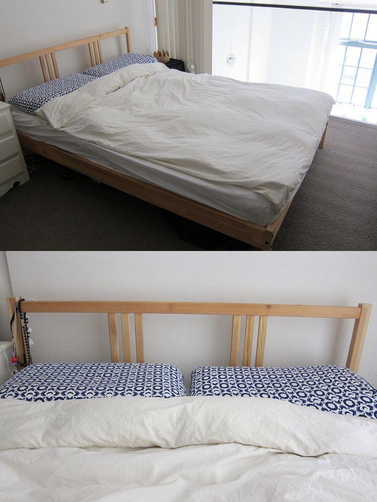 IKEA Pine Fjellse Bed Frame (http://www.ikea.com/au/en/catalog/products/80185066/) + Slats (http://www.ikea.com/au/en/catalog/products/30292785/) + Mattress  Condition: Used  Price: $50 ONO