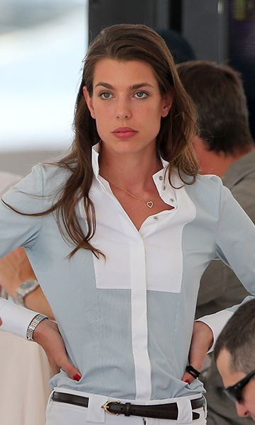 Charlotte Casiraghi and Gad Elmaleh step out together at St. Tropez horse show