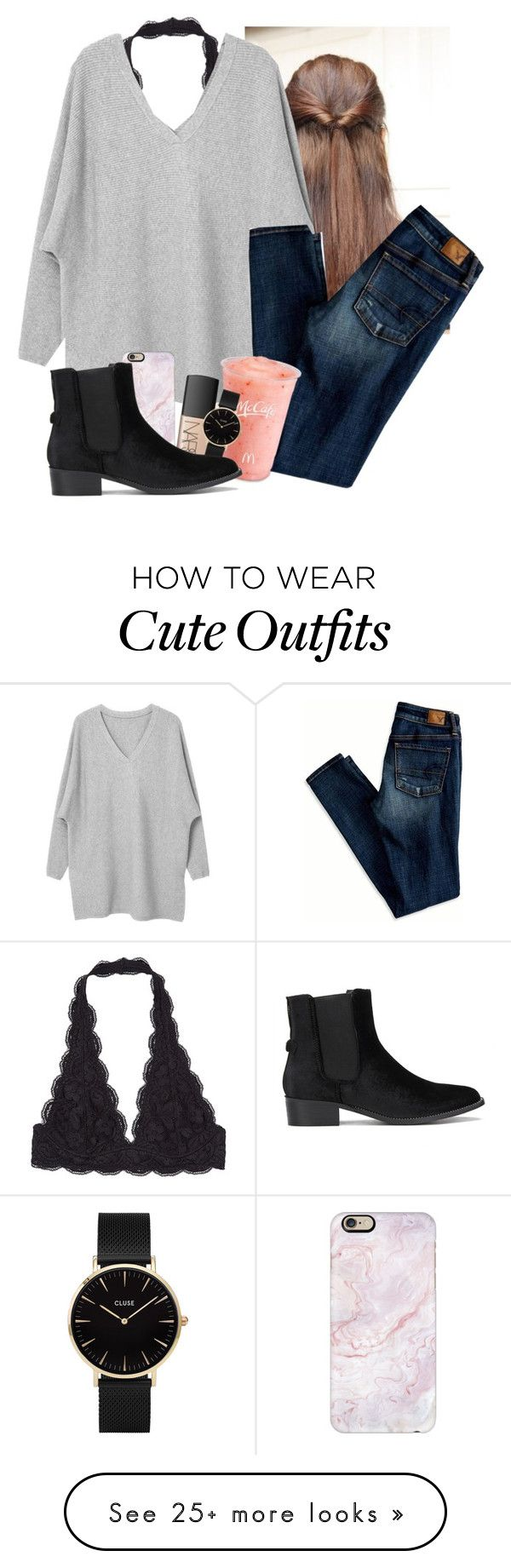 """""""I love Twilight"""" by pao-rj on Polyvore featuring American Eagle Outfitters, Disney, Casetify, NARS Cosmetics and CLUSE"""