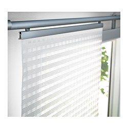 IKEA - INGAMAJ, Paneelgordijn, Een paneelgordijn is ideaal voor een laag-over-laagoplossing voor het raam, als scheidingswand of om een open opbergoplossing te verbergen.Eenvoudig op de gewenste lengte te knippen.