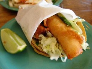 Taco Del Mar style Fish Taco recipe   Garden of Eatin': these were the best fish tacos I've ever had. I left out the pico. Use 1 1/2 pounds fish and keep everything else the same, good for dinner for 5 with a side dish
