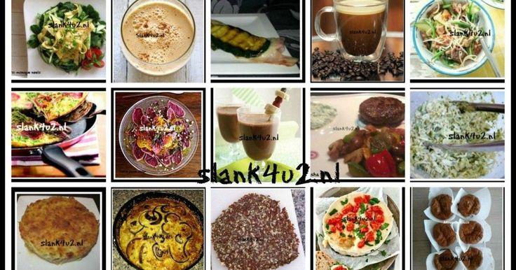 Alle recepten – Slank4U2