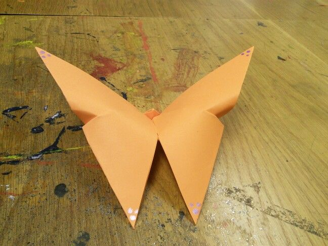 Origami butterfly