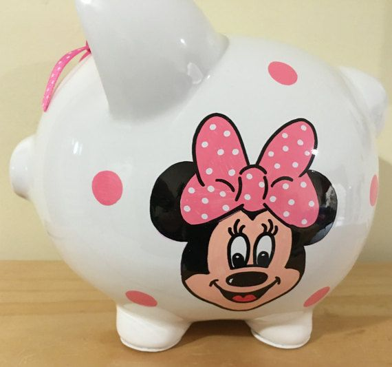 Large Piggy Bank This is it! Our number one seller! Our Large White Ceramic Pig Bank! This adorable round piggy with its big ears, four legs, tail and snout has been our most popular item year after year. The smooth glazed surface is like a blank canvas on which to work your