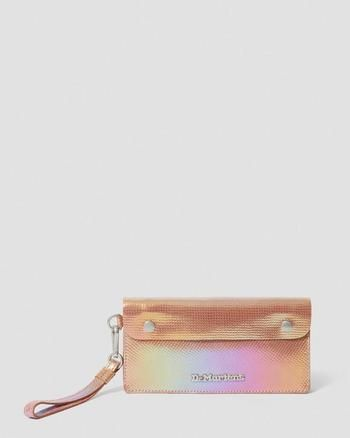 Dr Martens Uk, Texture, Leather Pouch, Shoe Collection, Iridescent, Cleaning Wipes, Leather Boots, Purses And Bags, Chrome