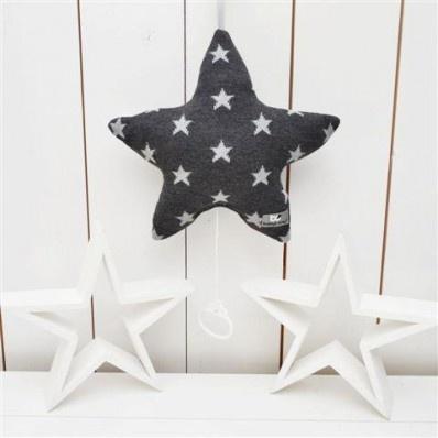 <3 Baby's Only muziekdoos ster met ster