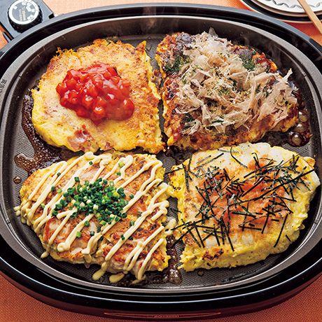 クワトロお好み焼き | 小林まさみさんのお好み焼きの料理レシピ | プロの簡単料理レシピはレタスクラブニュース