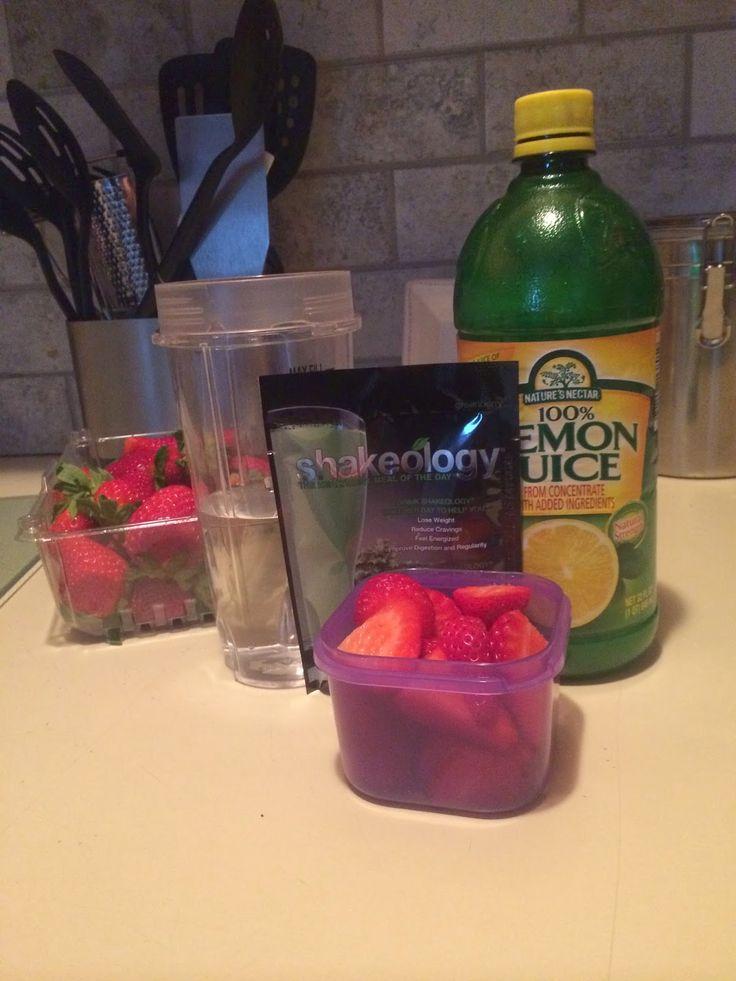 Strawberry Lemonade Greenberry Shakeology. Red Robin Freckled Lemonade