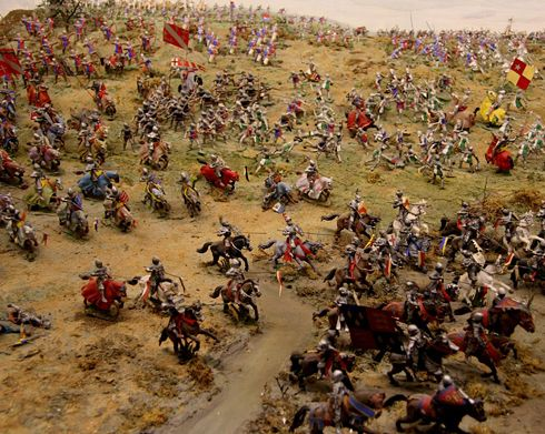 Battle Of Bosworth - The Last Stand Of Richard III Located on Fen Hole, close to Roman Road, and not on Ambien Hill. Click to read more~