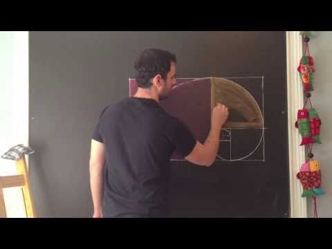 ▶ my friend, Brian, showing some of the work he did with the 8th grade geometry block... WALDORF GEOMETRY - Golden Spiral lesson PREVIEW - YouTube