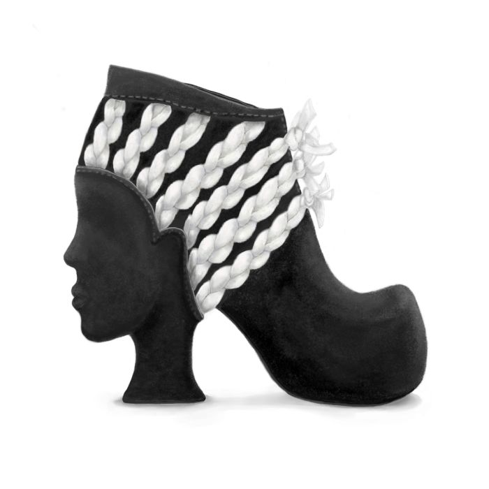 Shoes with a Face by Dunja Seselja at Coroflot.com