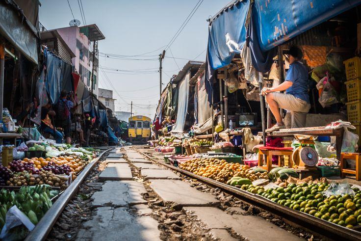 Mae Klong Railway Market by Rosen Velinov on 500px