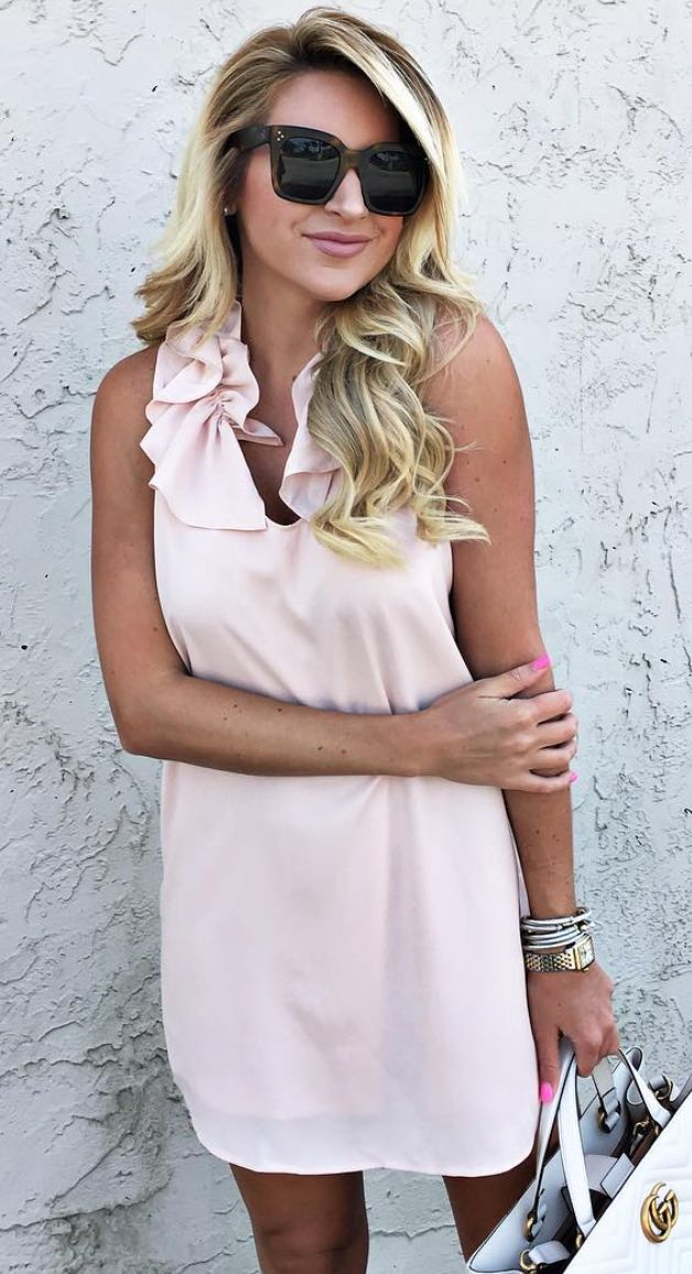 1000  ideas about Pink Ruffle Dress on Pinterest - Baby girl ...