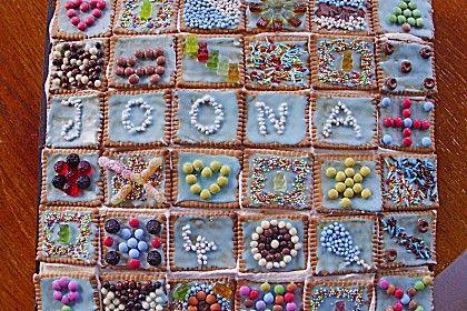 Kinder-Geburtstagskuchen -- Butterkekskuchen (Rezept mit Bild) von katinka79   Chefkoch.de