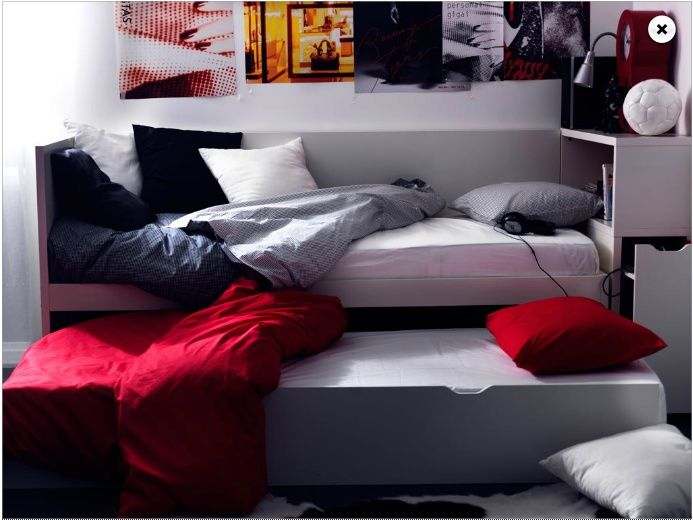 108 best images about g stezimmer on pinterest walk in - Mueble malm ikea ...