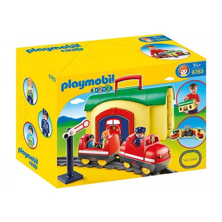 Playmobil Τρένο - Βαλιτσάκι 6783