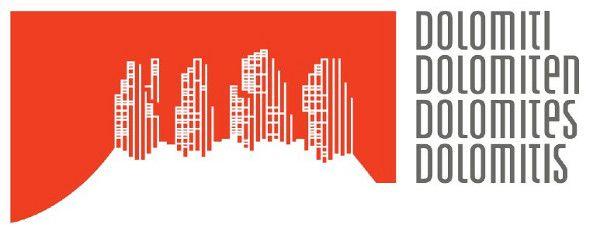 Dolomiti - skvělé a odvážné logo