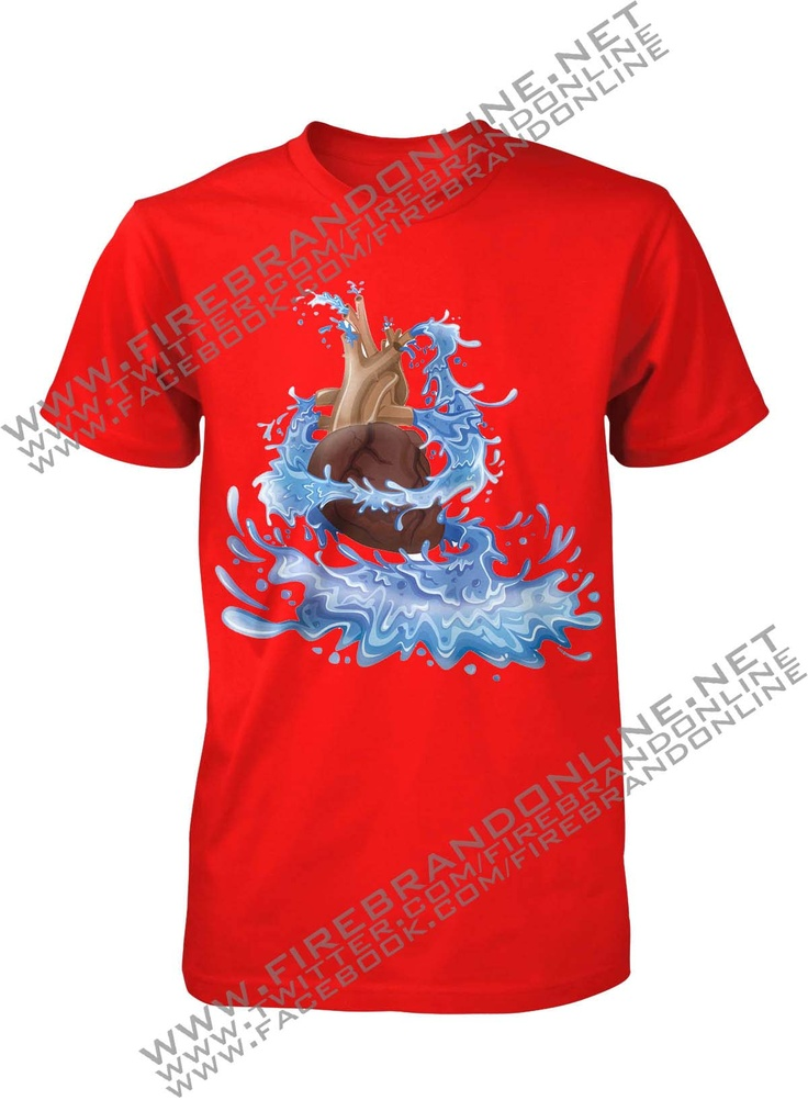 "(Unisex Tees) ""Springs of Life"": Let our every heartbeat produces life for the people around us, and not destroying life... For more interesting design please visit: www.firebrandonline.net"