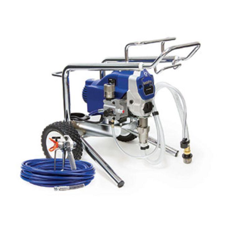 Graco medium duty paint sprayer rental the home depot