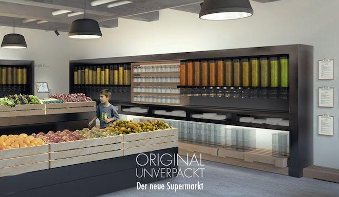 Original Unverpackt, Berlin, waste-free supermarket, zero-waste supermarket, bulk foods, sustainable food, zero packaging, bring your own co...