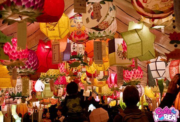 Current Cute Korean Holiday: Buddha's Birthday 석가탄신일 + Lotus Lantern Festival