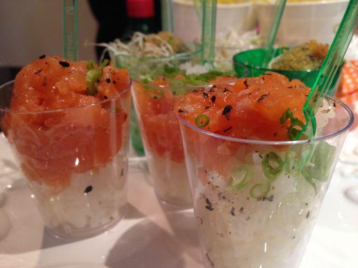 Sushi no copo! (Barko Sushi, Porto Alegre, RS, Brasil)