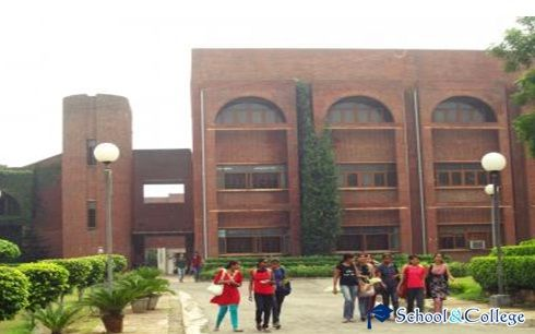 Maitreyi College is a college in the South Campus of the University of Delhi, located in Bapu Dham, Chanakyapuri, New Delhi-110021, India. It was established in July 1967, and named after the Vedic sage Maitreyi.