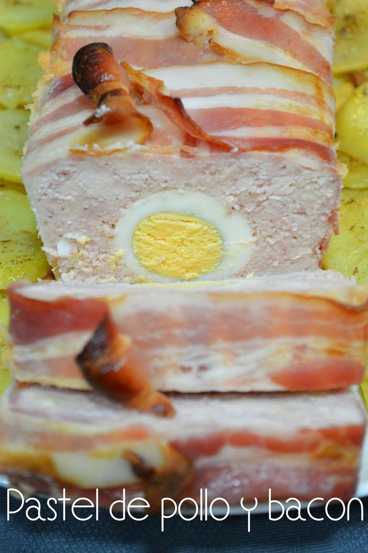 Pastel de pollo y bacon                                                                                                                                                                                 Más