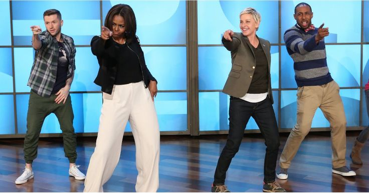 Ellen DeGeneres and Michelle Obama dancing will make your day.