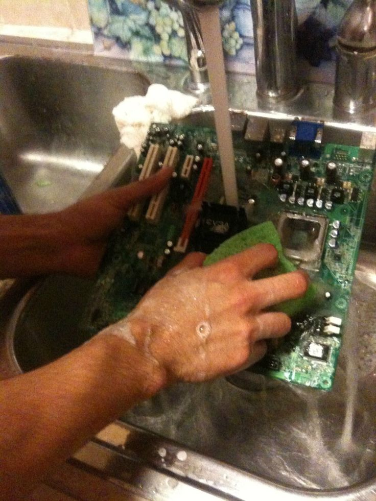 Have you been cleaning your hardrive like this? Turns out
