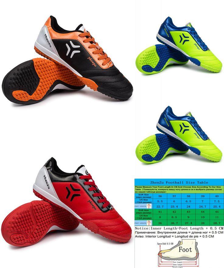 [Visit to Buy] Brand Football Boots Men Soccer Shoes Zapatos Botas De Futbol 2016 Indoor Boys Football Indoor Soccer Boots Shoes #Advertisement