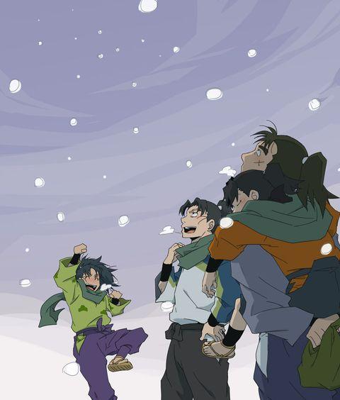 「明日は雪合戦だな!」