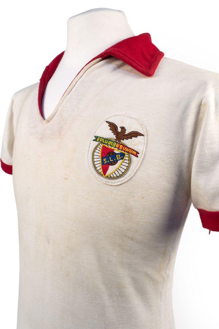 Football com category football kits image sl benfica 1st kit - Antonio Simoes Benfica Shirt 1968 European Cup Final On Loan The Nfm