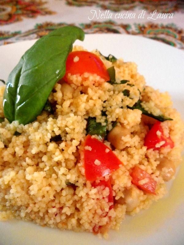 cous cous pollo e verdure - nella cucina di laura