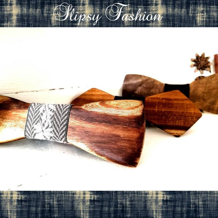 Slipsy Fashion Wooden Accessories