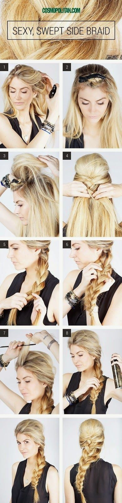 27 Cara Menata Rambut Panjang Yang Gampang Dan Susah ~ Sealkazz Blog