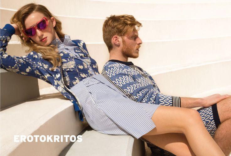 Erotokritos campaign spring-summer 15 - Erotokritos