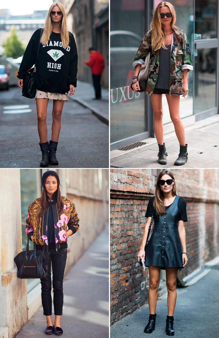 best street style outfits of 2012