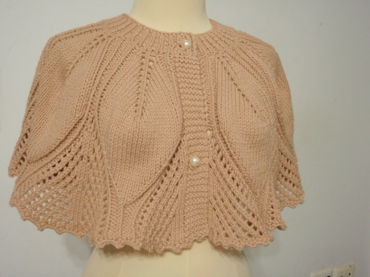 Knitted Cape Pattern : Pinterest