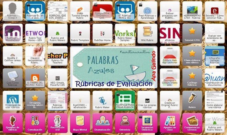 Symbaloo: Las Rúbricas, herramientas para la evaluación. | PaLaBraS AzuLeS