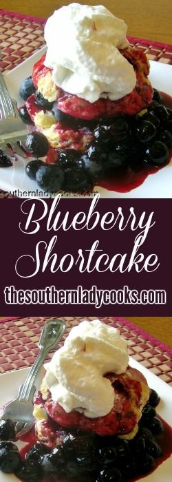My family loves blueberries and we eat them year round if we can get access to them. This blueberry shortcake is an easy dessert