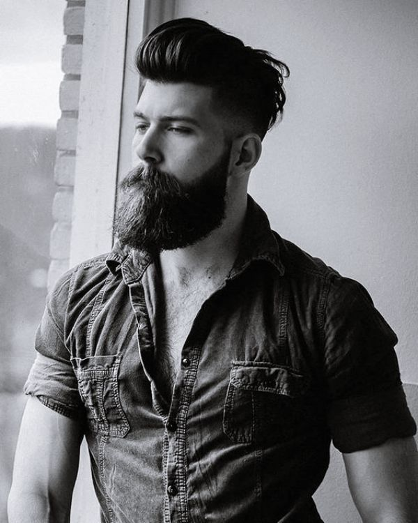 Admirable 35 Trending Hairstyles For Men With Beards Beard Styles For Men Schematic Wiring Diagrams Phreekkolirunnerswayorg
