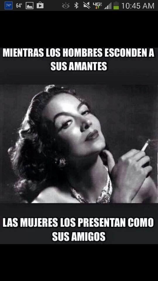 Maria Felix meme.... So true !