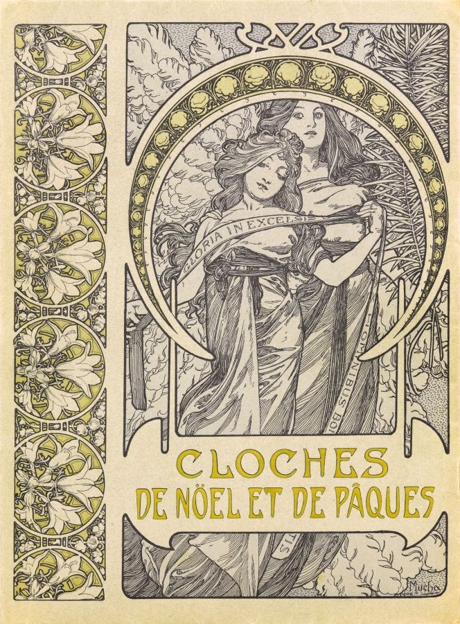 263 best images about alphonse mucha on pinterest models joan of arc and madonna - Cloche de paques ...