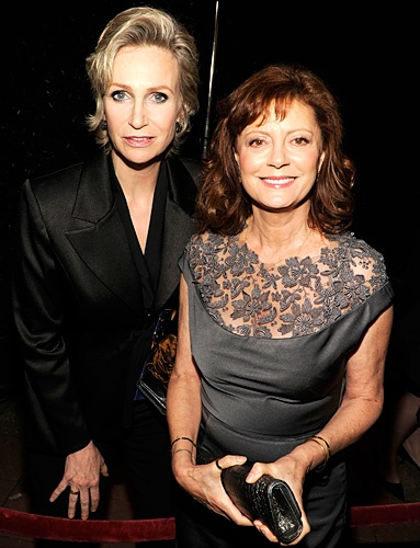 Jane Lynch and Susan Sarandon