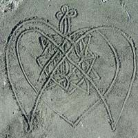 another sand drawing....