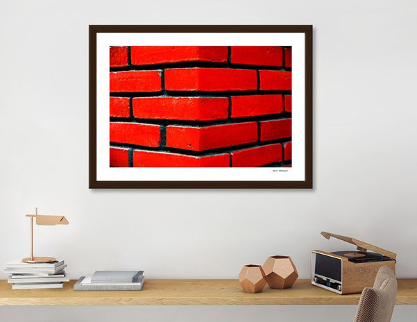 Discover «Brick wall 4», Exclusive Edition Fine Art Print by Henri Hiltunen - From $25 - Curioos