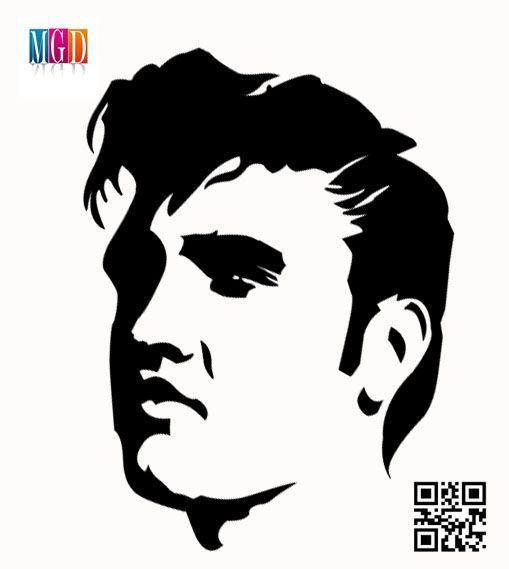 Elvis Presley White And Black Vector In Photoshop  http://jaimesartwork.wordpress.com/wp-admin/post.php?post=2554=edit=6=v2