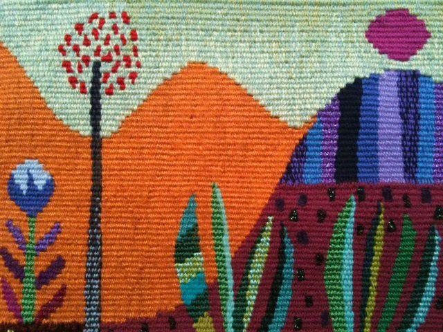 ~ tapestry artist Liza Collins