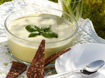 Opskrift | Agurke-porre-suppe